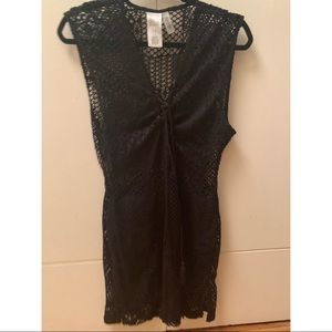 Kenneth Cole reaction black coverup - size Small